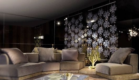 Designer stainless steel curtain